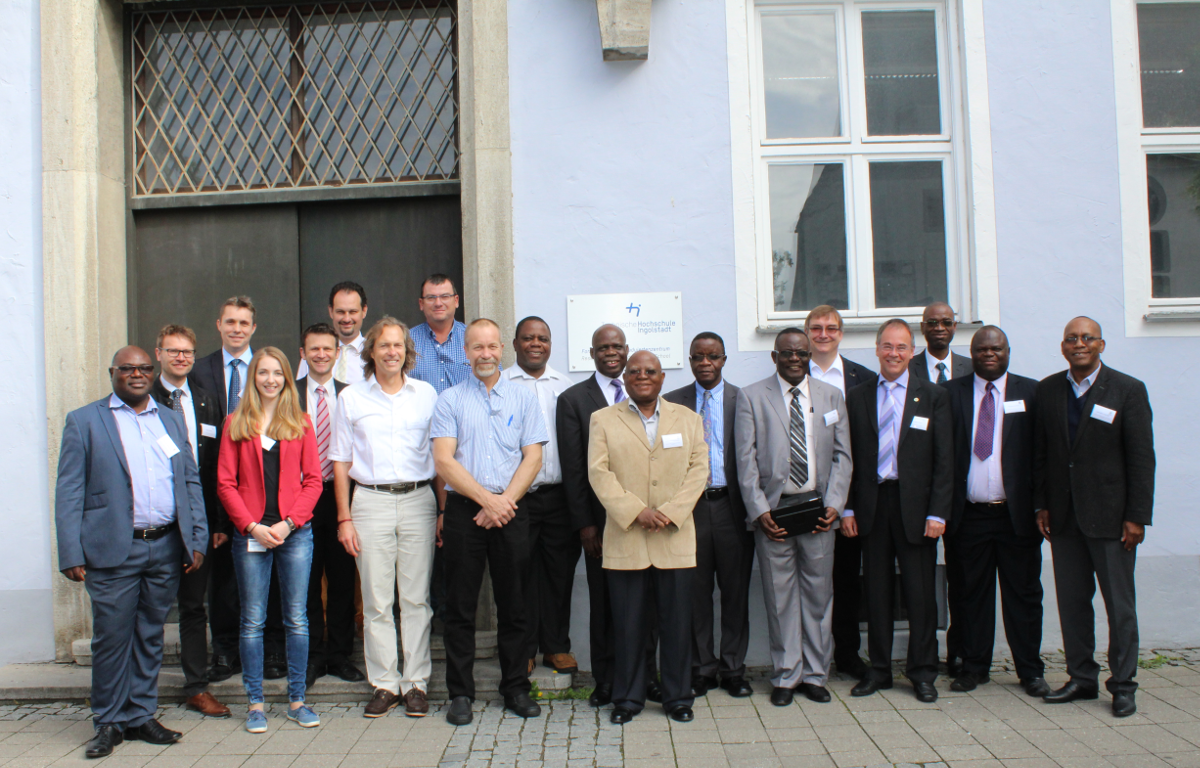 The AIR project team at the Kick-Off meeting in Ingolstadt – June 2016