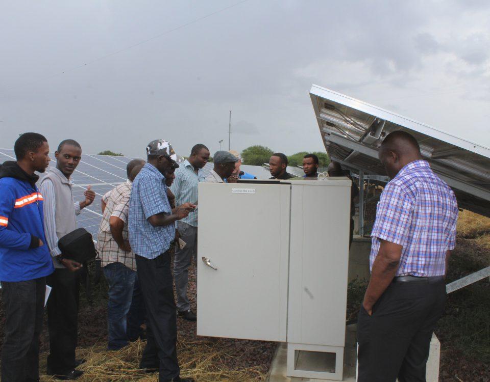 Phakalane Photovoltaic Station